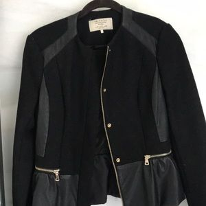 Zara peplum jacket